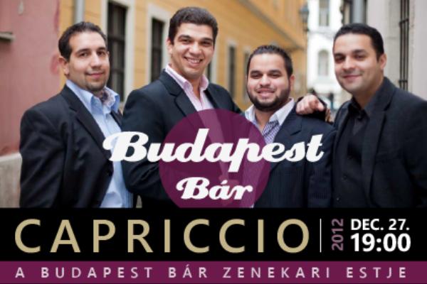 Budapest Bár: Capriccio