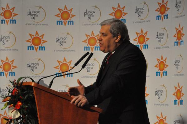 Batta András méltatja a tehetségeket - 2012-es zenei Junior Prima-díjak