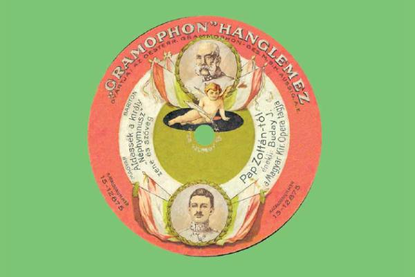 Illusztrációk a Képes magyar hanglemez történet c. könyvből