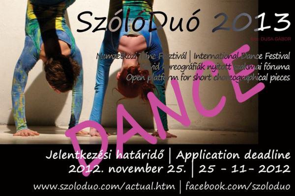 SzólóDuó Nemzetközi Tánc Fesztivál 2013