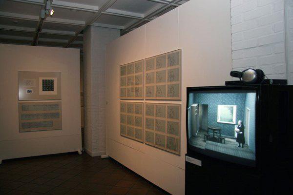 Vasarely Múzeum: A képek állása