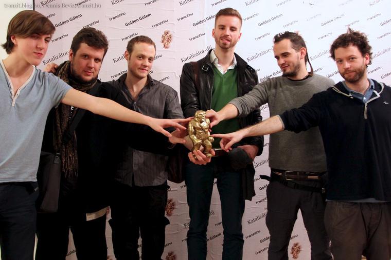 A Krétakör a Golden Gólem-díjjal