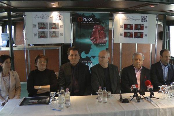 A bolygó hollandi - sajtótájékoztató a Millenium II. hajó fedélzetén