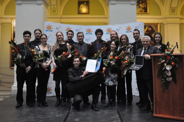 Az Anima Musicae kamarazenekar - 2012-es zenei Junior Prima-díjak