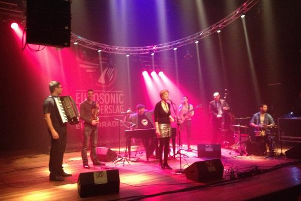 A Cimbaliband fellépése az Eurosonic Fesztiválon