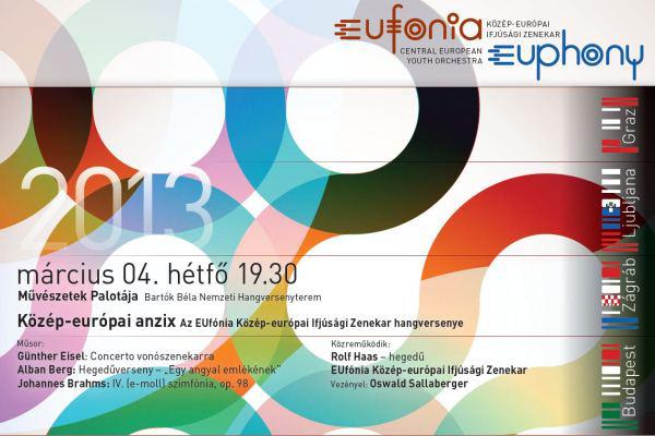 EUfónia 2013 plakát