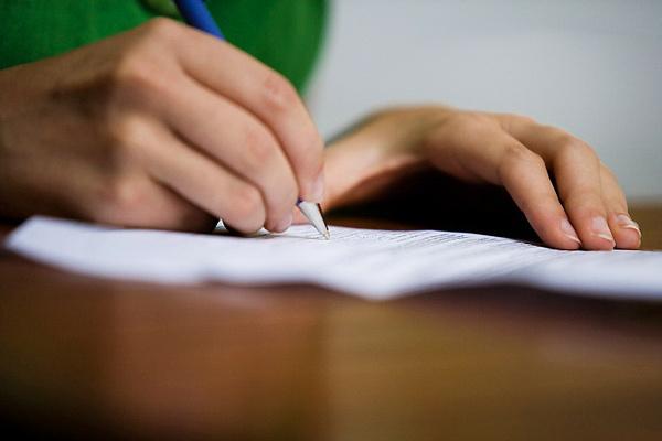 író kéz, kéz, toll, illusztráció