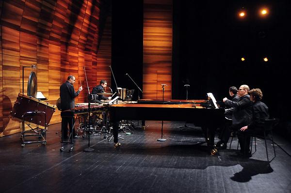 Báll Dávid és Marouan Benabdallah - zongora, Dénes Roland és Joó Szabolcs - ütőhangszerek - Bartók Maraton - 2013. február 3.
