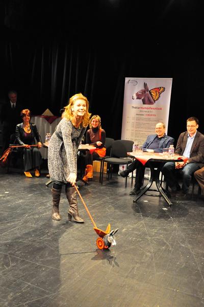 Schell Judit - Az első Thália Humorfesztivál díjátadója