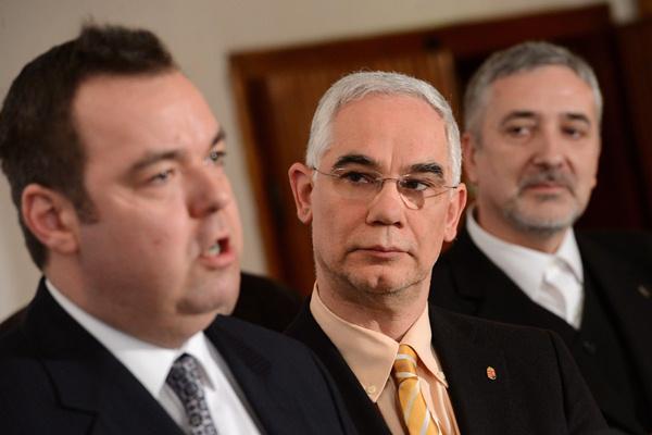 L. Simon László, Balog Zoltán, Halász János