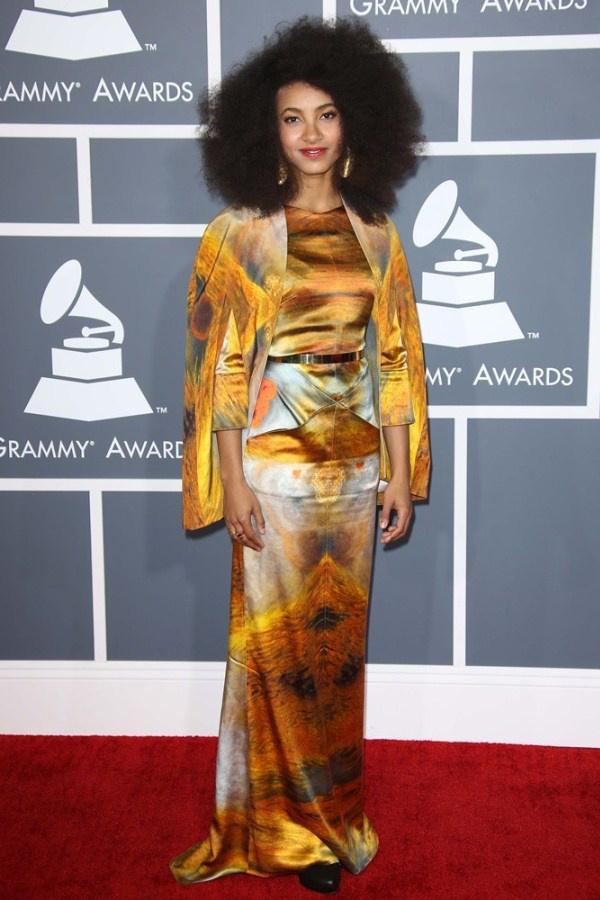 Esperanza Spalding a 2013-as Grammy-díjátadón