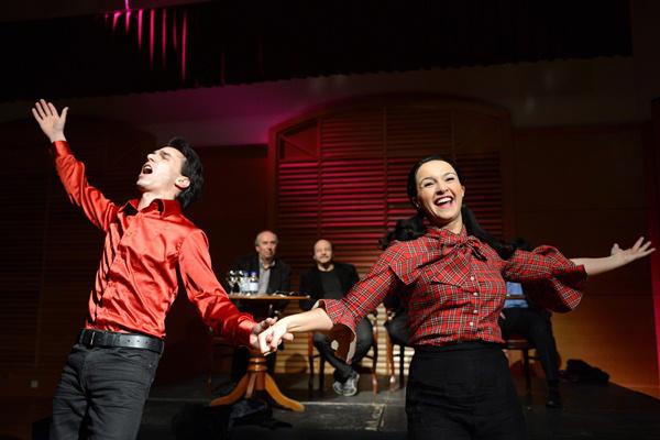Kerényi Miklós Máté, Dancs Annamari - Híres operettek című könyvsorozat sajtótájékoztatója - Budapesti Operettszínház