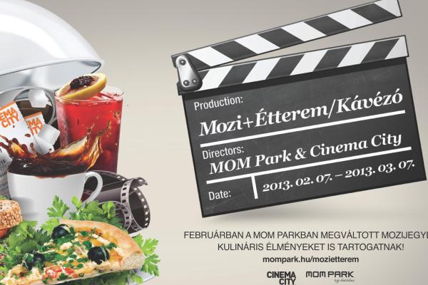 A MOM Park és a MOM Park Cinema City közös  akciója