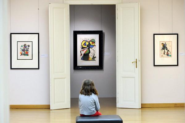 Joan Miró-kiállítás Szegeden