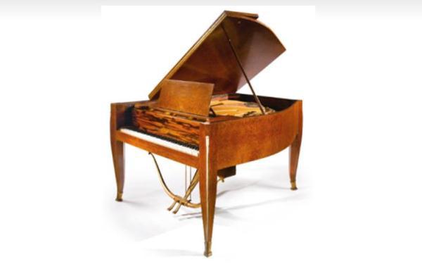 Emile-Jacques Ruhlmann által tervezett hangversenyzongora