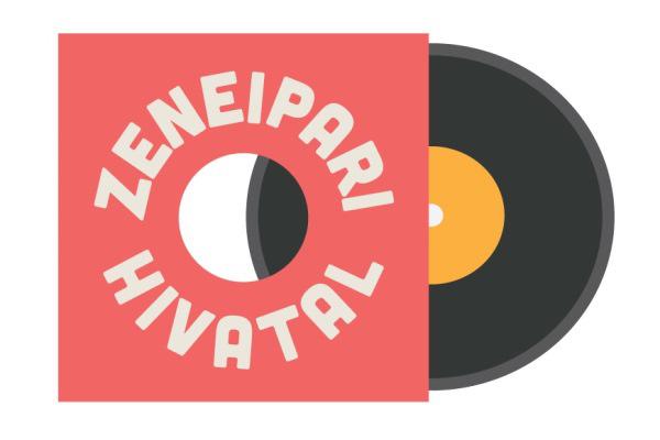 Zeneipari Hivatal logo