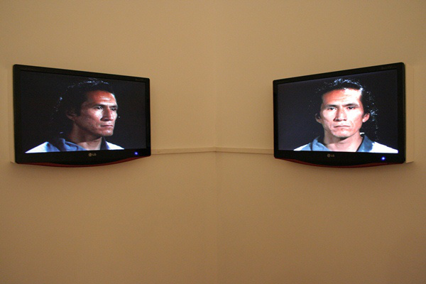 Gary Hill: Facing Faces (1996