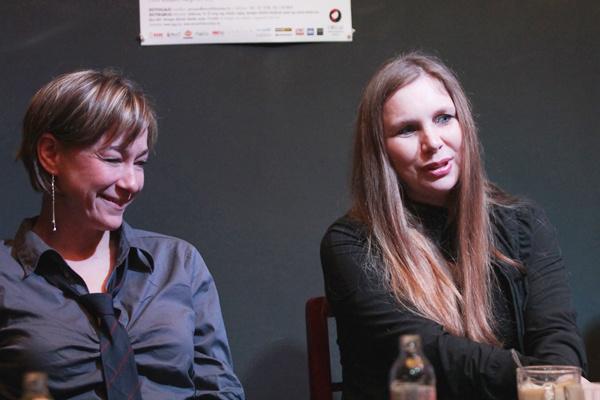Fullajtár Andrea, Bozsik Yvette - a Minden ötödik órában sajtótájékoztatója