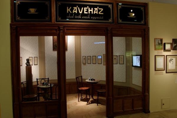 Karinthy Frigyes-kiállítás a PIM-ben