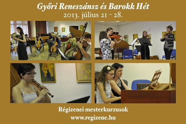 Győri Reneszánsz és Barokk Hét 2013