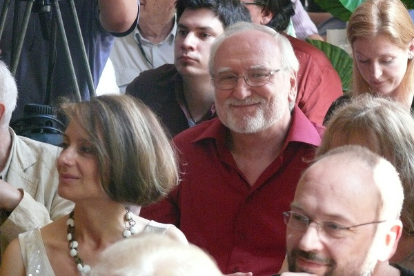 Blaskó Péter a Nemzeti Színház 2013. május 3-i sajtótájékoztatóján