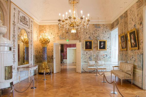 A kismartoni Esterházy-kastély belső tere