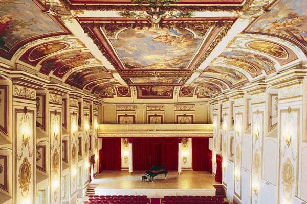 A kismartoni Esterházy-kastély Haydn Tereme