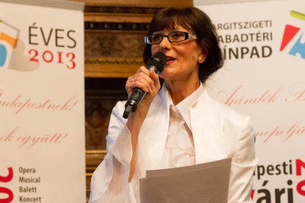 Budapesti Nyári Fesztivál 2013 - sajtótájékoztató