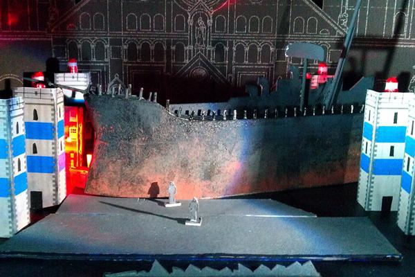Leányvásár (a Szegedi Szabadtári játékok látványterve)