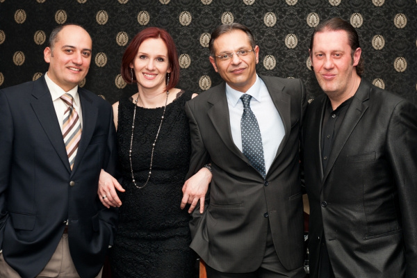 Malek Andrea és a Trio Midnight (Egri János, Oláh Kálmán, Balázs Elemér, fotó: Marczis Miklós)