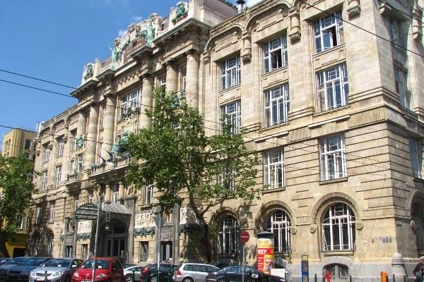 A Zeneakadémia Liszt Ferenc téri épülete