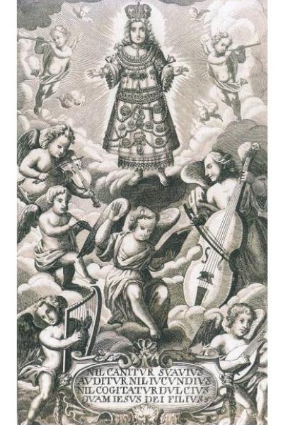 Képillusztráció a Harmonia Caelestis-ből - 1711. (Esterházy Magánalapítvány)