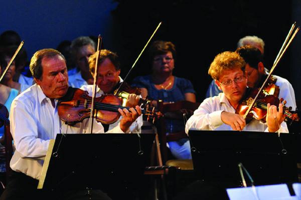 Plein air koncertek - Liszt Ferenc Kamarazenekar