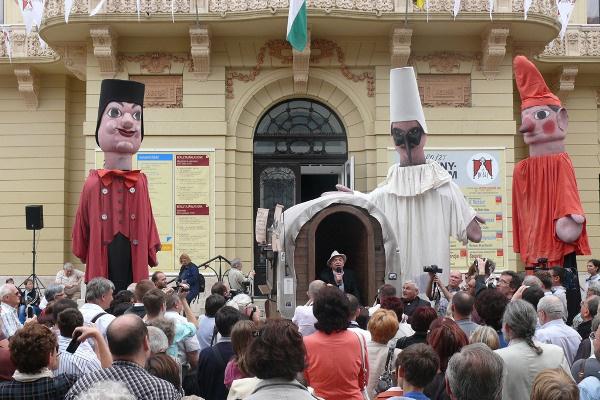A 13. Pécsi Országos Színházi Találkozó megnyitója - 1. nap