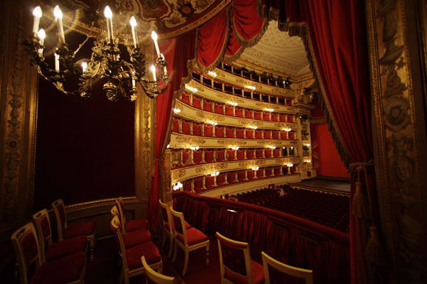 A Scala nézőtere