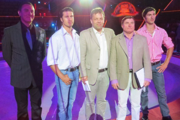 cirkuszigazgatók - Cirkuszok éjszakája - sajtótájékoztató - Fővárosi Nagycirkusz