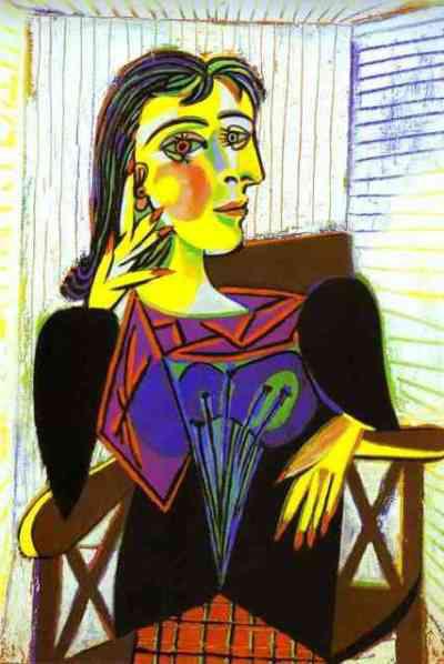 Picasso: Dora Maar portréja