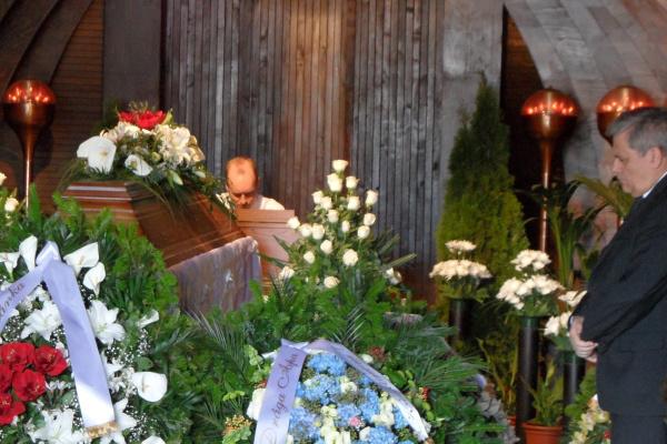 Ugrin Gábor temetése