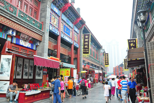 Piac a toronyházak árnyékában - Az Operaház Kínában
