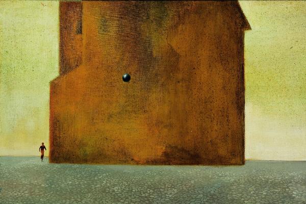 Ország Lili: Nagy fal II (1955) részlet