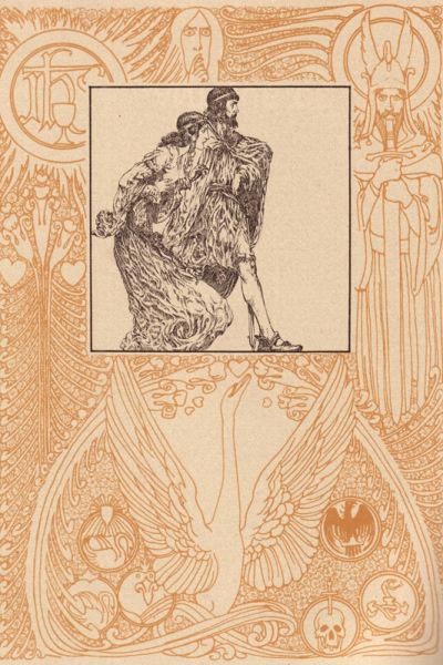 Lohengrin-illusztráció (Willy Pogany)