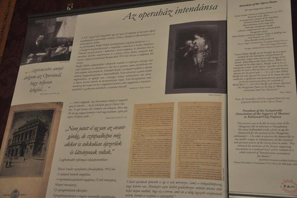 Bánffy Miklós vándorkiállítás sajtótájékoztatója az Operaházban