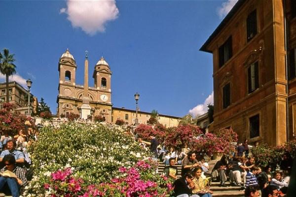 Róma, Spanyol lépcső