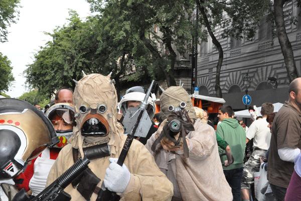Évadnyitó TeARTrum Fesztivál 2012 - Andrássy út
