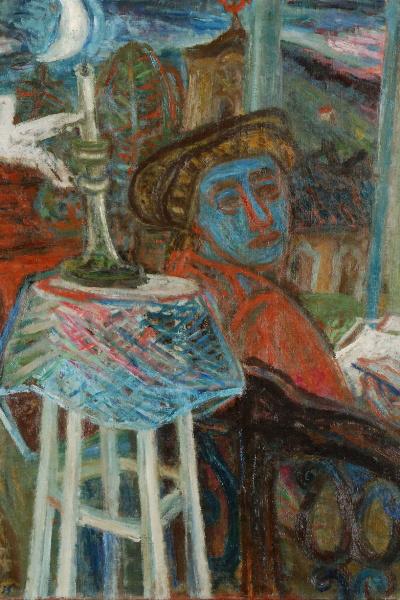 Ámos Imre: A festő (részlet)