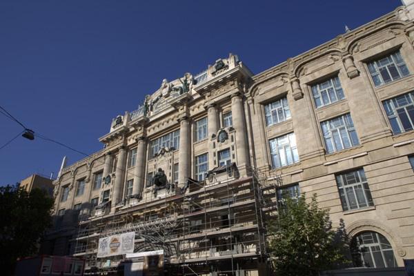 A Zeneakadémia épülete 2013 szeptember elején