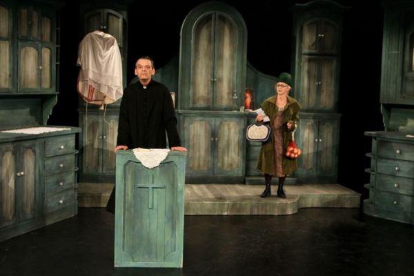 Kaszás Gergő és Bozó Andrea a Bányavíz c. előadásban