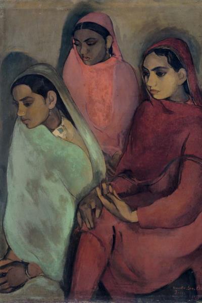 Amrita Sher-Gil: Három lány