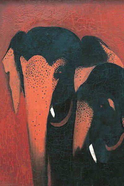 Amrita Sher-Gil: Két elefánt