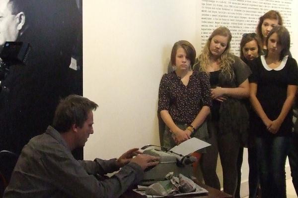 Drámapedagógiai foglalkozás a Nemzeti Múzeumban